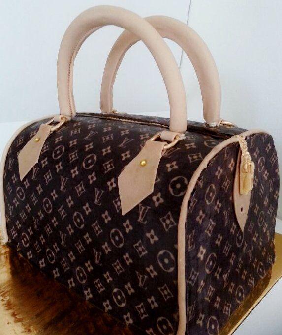 Designer handbag designer bag cakes pinterest