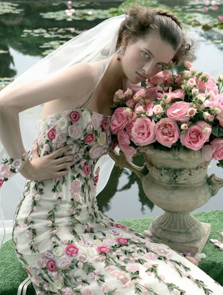 Pin by sharon mountz on wedding pinterest for Bridesmaid dresses for a garden wedding