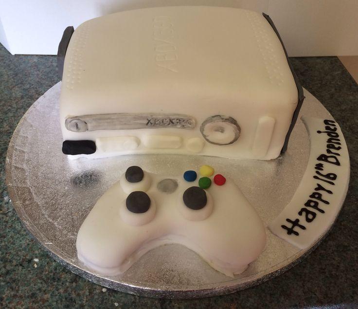Xbox themed cake  Birthday Cakes by Fandabydozy Cakes  Pinterest