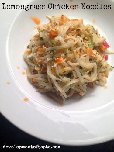 Easy Chicken Recipes: Lemongrass Chicken Noodles