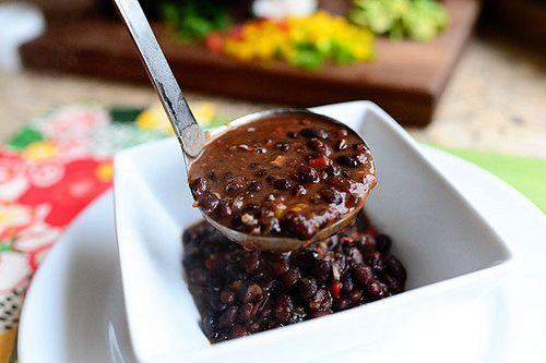 Black bean soup by ree drummond the pioneer woman via flickr