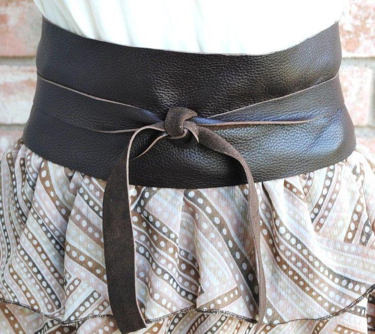 diy tutorial diy leather diy leather japanese obi belt