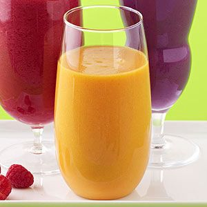 Papaya-Mango Smoothie - mango nectar/juice, yogurt, mango, papaya ...