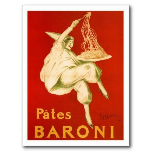 Famous Leonetto Cappiello Italian pasta Postcards
