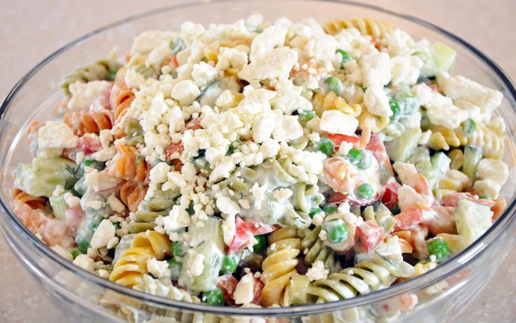 Greek Pasta Salad | Salads | Pinterest