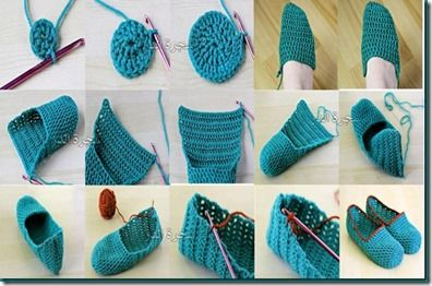 zapatillas de crochet paso a paso