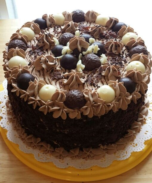 Chocolate Ganache Torte | FOOD | Pinterest