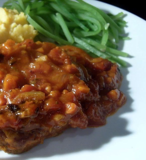 Swiss Steak - A Year From Oak Cottage: Seeing Heart to Heart