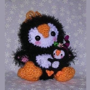 Free Amigurumi Penguin Pattern - [o_o]