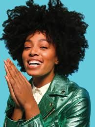 Solange Knowles Natural Hair Now