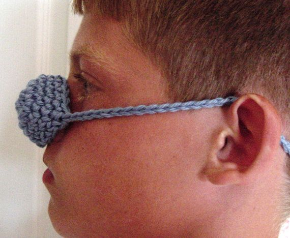 Crochet Nose Warmer : Hand crocheted NOSE WARMER Mitten COZY Cashmere by GrandmaCherri, $5 ...