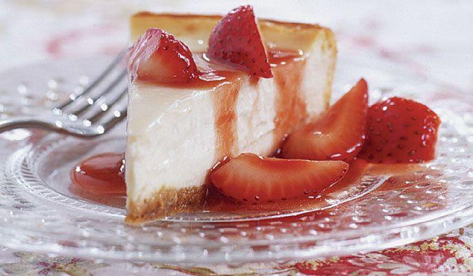 Light New York Cheesecake: Lightening up a dessert that's ...