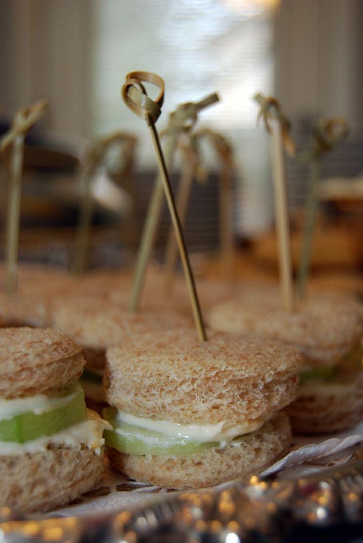 cucumber sandwiches | Tea Party | Pinterest