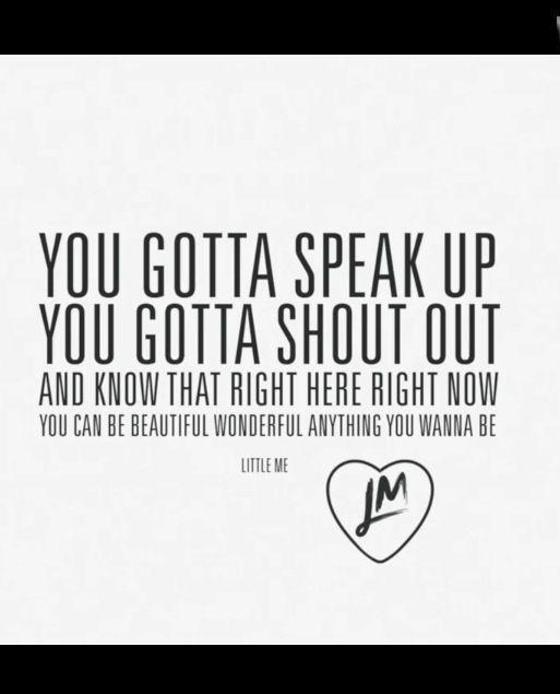 little me lyrics: