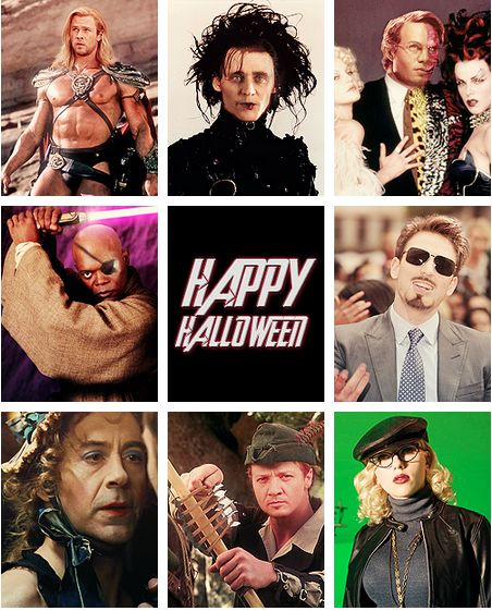 Avengers halloween.. I think...I totally died laughing