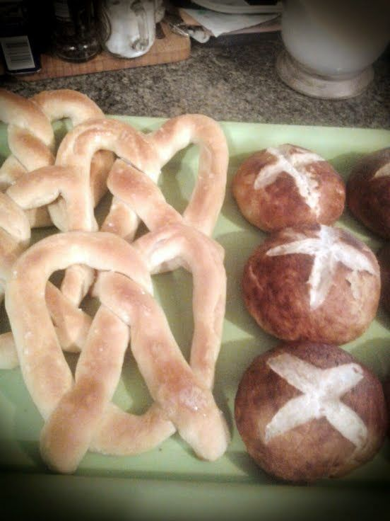 "Homemade Pretzel Rolls for sandwiches! ""This is by far one of the ..."