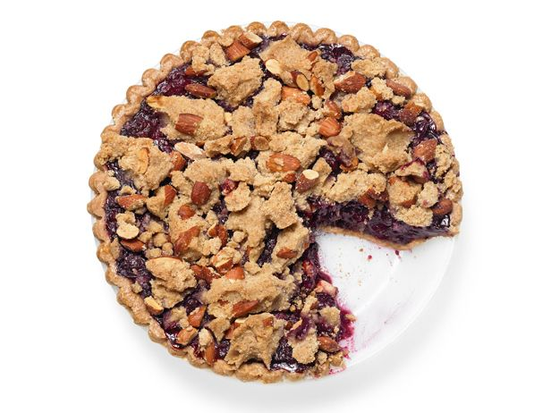 Blueberry Crumb Pie Recipe : Food Network Kitchens : Food Network ...