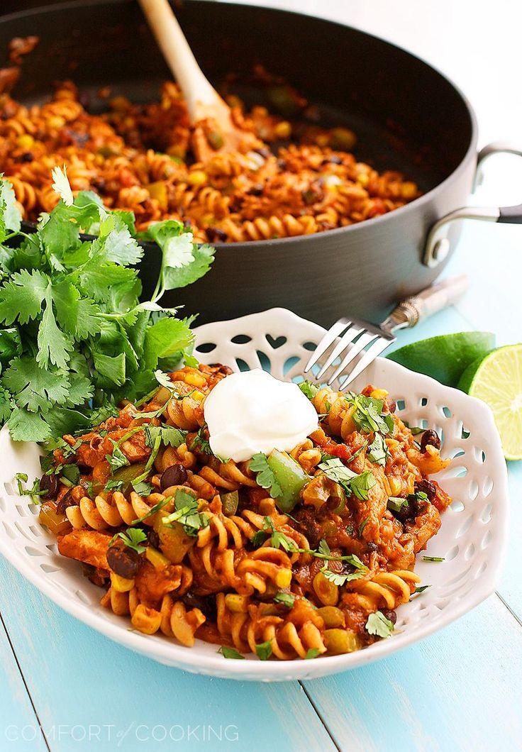 Cheesy Skillet Tex-Mex Rice Recipe — Dishmaps