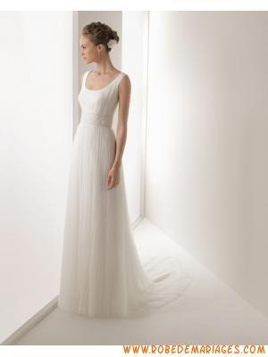 Robe de mariée tulle dentelle col rond  Robe de mariée 2013 ...