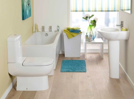 5 skinny bathtubs important for tight bathroom spaces for Tight space bathroom designs