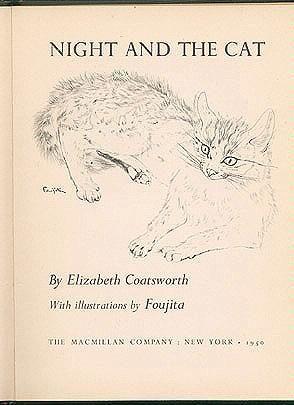 Night and the Cat, Elizabeth Coatsworth (illustrated by Foujita)