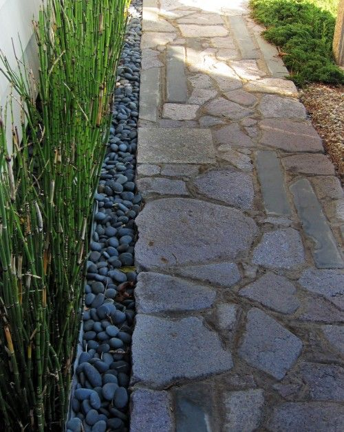 River Stone Walkway The Great Outdoors Pinterest