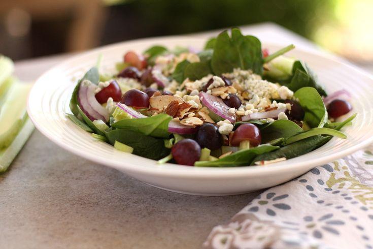 Grape Salad with Honey Poppy Seed Dressing