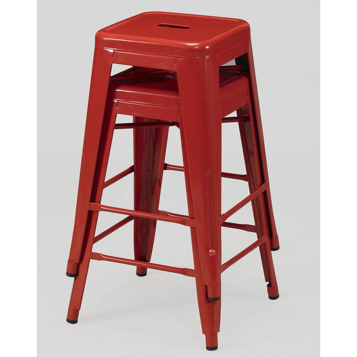 Tabouret 24 inch Red Metal Counter Stools Set of 2 : b61c00093d00468f6ab1ceba05f4806f from pinterest.com size 736 x 736 jpeg 41kB
