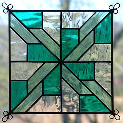 Glass Window Quilt Pattern Stained Glass Window
