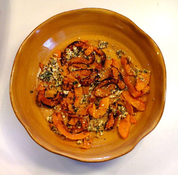 Caramelized Butternut Squash Wedges With A Sage Hazelnut Pesto Recipes ...