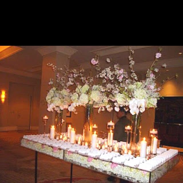 Acrylic Wedding Table Reception Ideas Pinterest