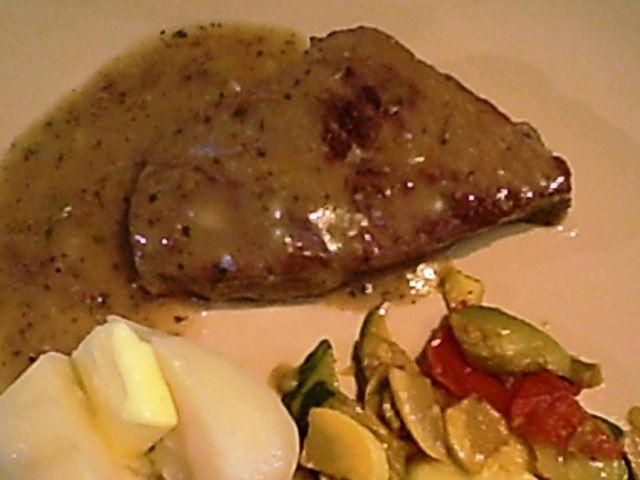 GF Beef Steak Braised with Mustard Gravy | Gluten-Free foods | Pinter ...