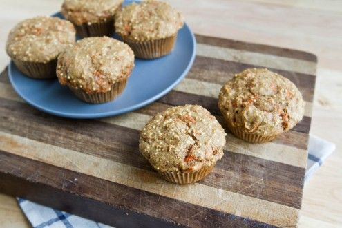 Spiced Carrot Millet Muffins - My local bakery makes these w apricot ...