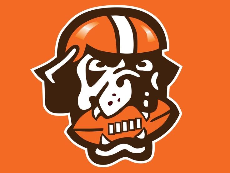 dawg pound logo browns pinterest