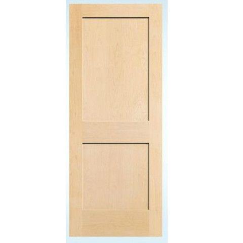 ice_white_shaker_cat_2 2 Panel Shaker Interior Doors