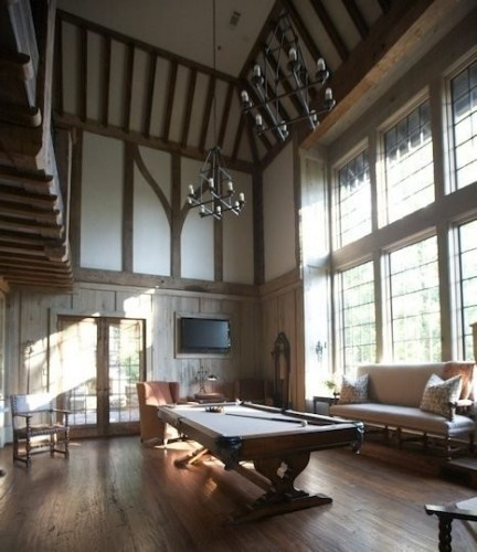modern tudor interior game room wow history pinterest