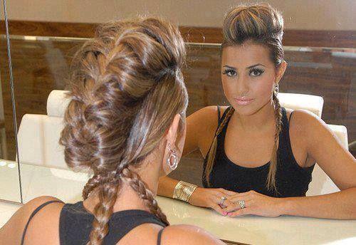 Raised Braid | Hair | Makeup | Beauty | Nails | Pinterest
