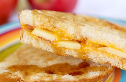 Apple-Cinnamon Grilled Cheese Sandwiches recipe.