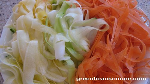 Vegetable Side Dishes, Sauteed Vegetable Ribbons, Summer Squash ...