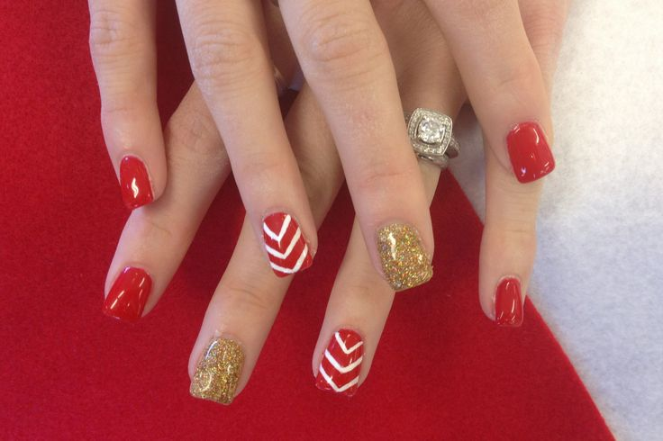Red and gold nail designs gallery nail art and nail design ideas nail design red gold red and gold nail art designs for trendy girls red and gold prinsesfo Image collections