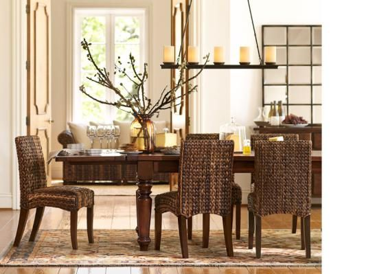 pottery barn dining room dining room pinterest