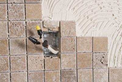 steps for sealing a natural stone tile backsplash