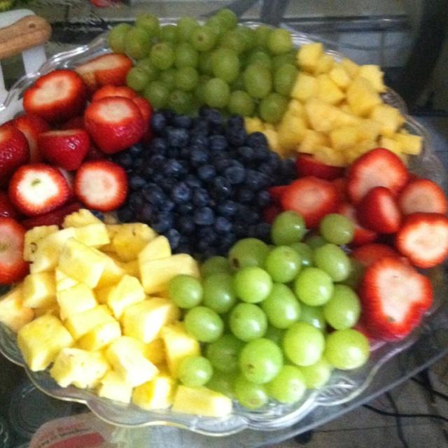 Fresh Fruit Platter Cake Ideas And Designs