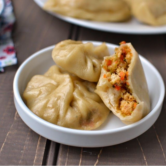 sikkim/vegetarian momos | vegan food | Pinterest