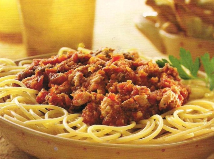 Pasta with Bolognese Sauce | Italian recipes | Pinterest