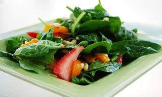 Strawberry-Mandarin Orange Salad | Food and Entertaining | Pinterest
