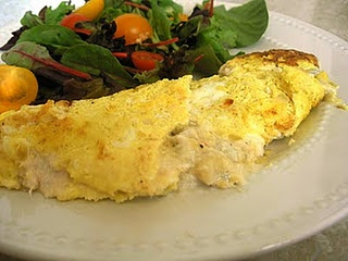 Wild Mushroom Scrambled Eggs, recipe by Anne Willian