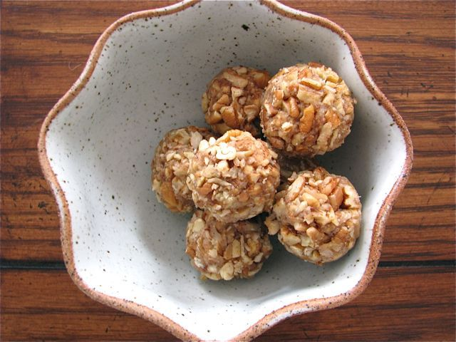 "dried fruit and nut ""truffles"" 