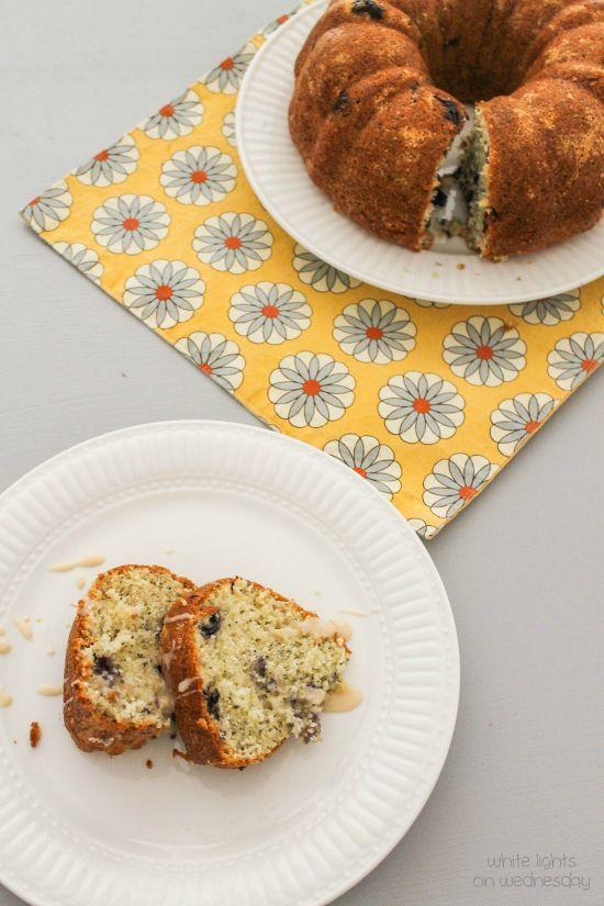 SRC: Lemon-Blueberry Poppy Seed Bundt Cake - White Lights on Wednesday