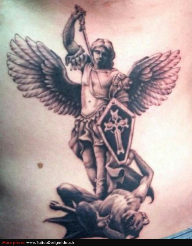 Good vs evil | Tattoos | Pinterest